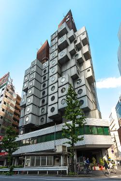 Tokyo, Japan by Nakagin Capsule Tower (Depicted as Love Hotel) in The Wolverine