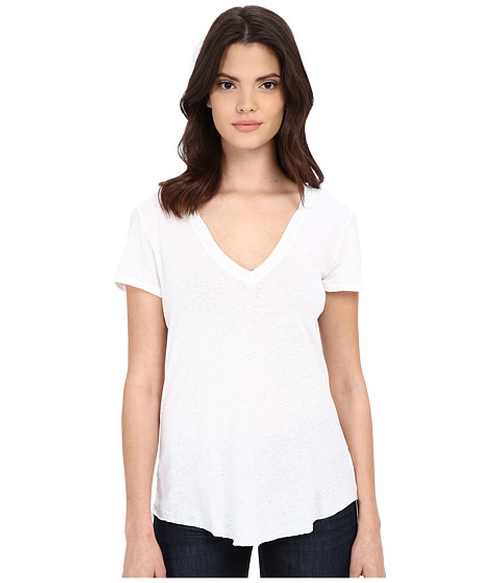 V-Neck Tee by LAmade in Keeping Up With The Kardashians - Season 11 Episode 10