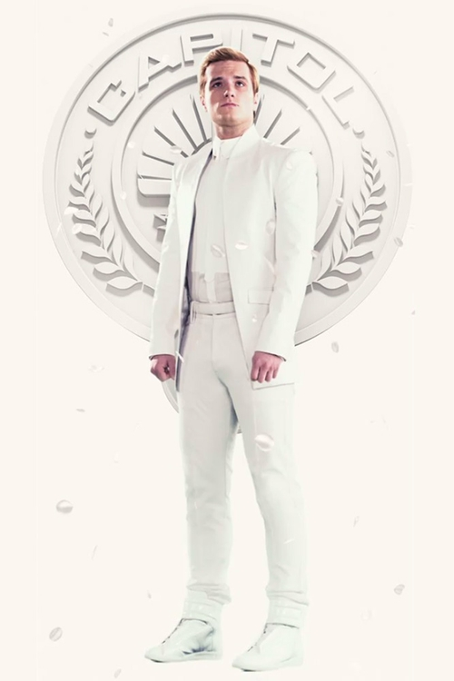 Leather Suit by Unconditional in The Hunger Games: Mockingjay Part 1