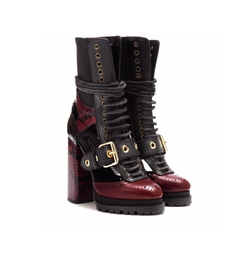 Westmarsh Embellished Boots by Burberry in Shadowhunters