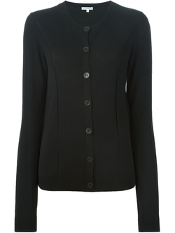 Button Cardigan by Ann Demeulemeester Blanche  in Burn After Reading