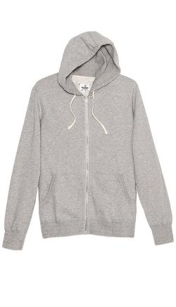 Mid Weight Terry Zip Hoodie by Reigning Champ in If I Stay
