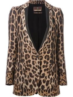 Leopard Print Blazer by Roberto Cavalli in Bridesmaids