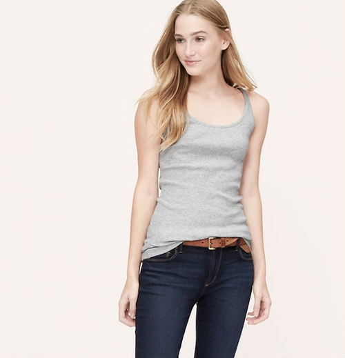 Cotton Tank by Loft in The Boy Next Door
