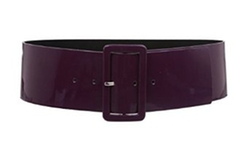 Ladies High Waist Patent Leather Wide Fashion Square Belt by BeltIsCool in Confessions of a Shopaholic