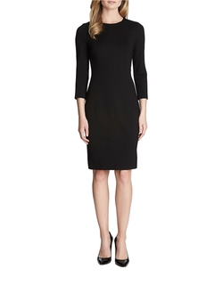 Seamed Ponte Knit Dress by Cynthia Steffe Zoe in The Good Wife