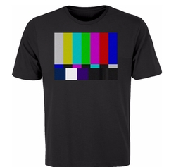No Channel Color Bars Shirt by BSW in The Big Bang Theory