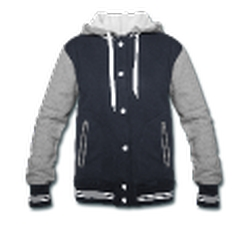 Varsity Hoodie Jacket by Spread Shirt in Master of None