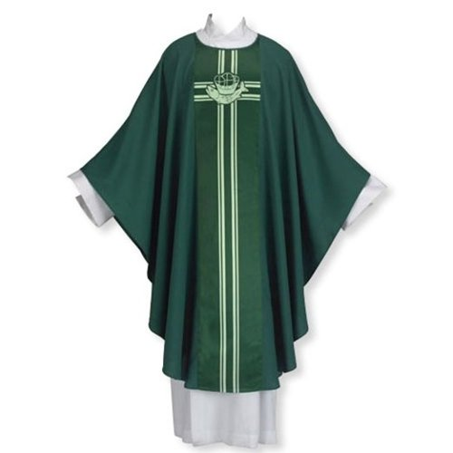 Loaves and Fishes Chasuble by Christian Brands Catholic in John Wick