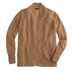 Collection Cashmere Long Open Cardigan Sweater by J. Crew in Begin Again