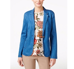 Stretch Denim Blazer by Vince Camuto in Mistresses