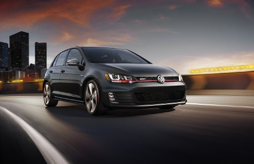 Golf-GTI Sedan by Volkswagen in Unfinished Business