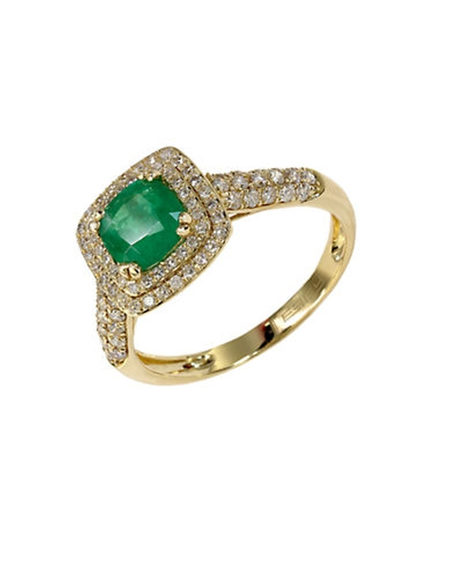 Emerald And Diamond Ring by Effy in The Hunger Games: Mockingjay - Part 2