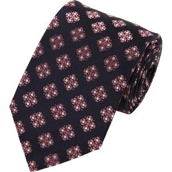 Geometric Medallion Tie by Fairfax in John Wick