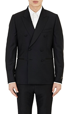 Double-Breasted Tuxedo Jacket by Paul Smith in Legend