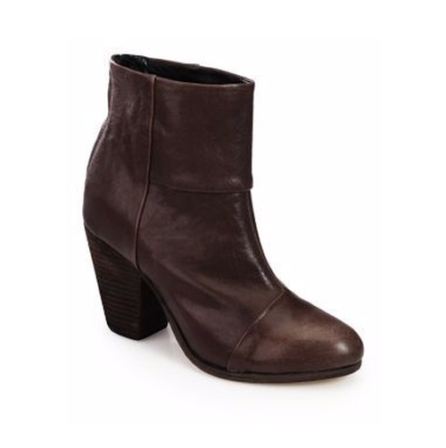 Classic Newbury Leather Ankle Boots by Rag & Bone in Why Him?