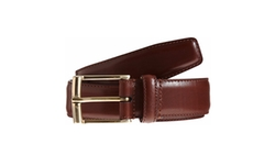 Leather Belt by Crockett & Jones in The Night Manager