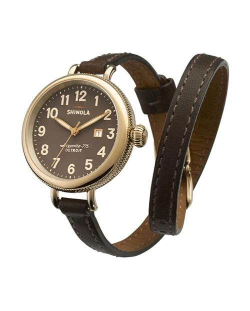 The Birdy Double Wrap Strap by SHINOLA in This Is Where I Leave You