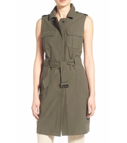 Long Military Vest by Olivia Palermo + Chelsea28 in Mistresses