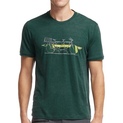 Tech Lite Branch Bike T-Shirt by Icebreaker in The Big Bang Theory