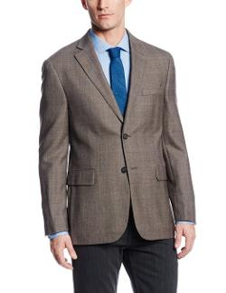 Men's Plaid 2 Button Center Vent Blazer by Nautica in The Disappearance of Eleanor Rigby