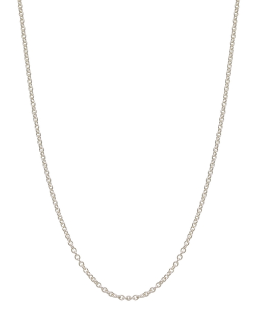 Sterling Silver Chain Necklace by Heather Moore in Pretty Little Liars - Season 6 Episode 10