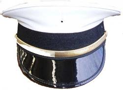 Semi-Pershing Cap by Light House Uniform Company in Unbroken