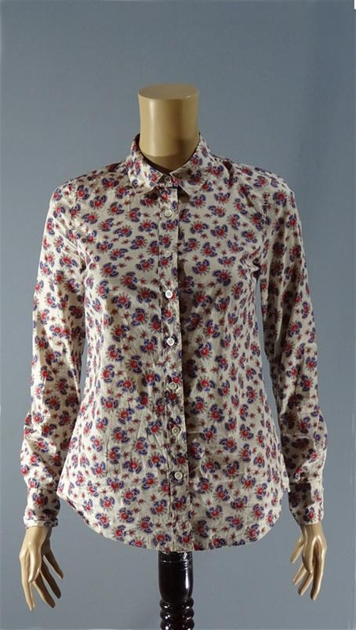 Perfect Printed Blouse by J. Crew in Poltergeist