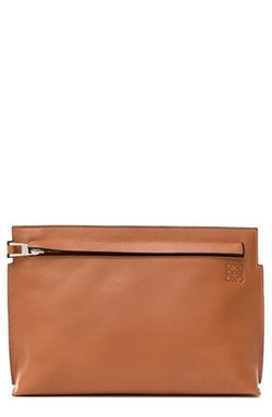 Large Calfskin Pouch by Loewe in Suits
