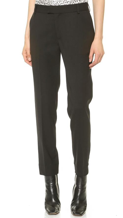 Ankle Pants with Slits by Band of Outsiders in Gone Girl