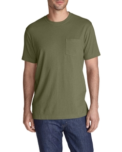 Legend Wash Pocket T-Shirt by Eddie Bauer in New Girl