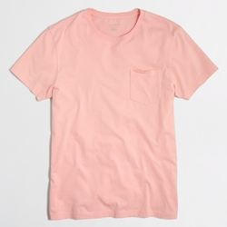 Factory Slim Washed Pocket Tee by J. Crew in Rock The Kasbah