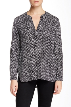 Esti Silk Blend Blouse by Diane von Furstenberg in Silicon Valley