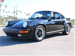 1989 911 Carrera Coupe by Porsche in Atomic Blonde
