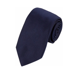 Solid Satin Neck Tie by Barneys New York in Suits