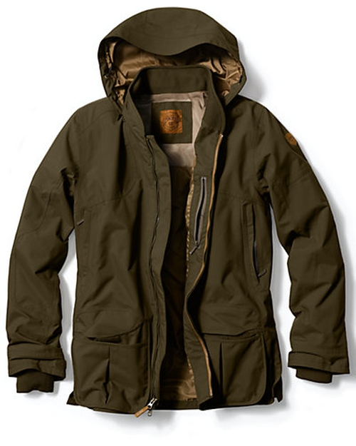 Waterproof Shooting Jacket by Eddie Bauer in The Wolverine