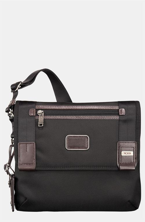 Alpha Bravo - Beale Mini Messenger Bag by Tumi in Let's Be Cops