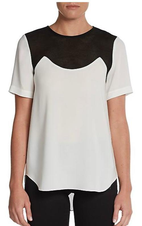 Bibelot Crepe Blouse by Tibi in Addicted