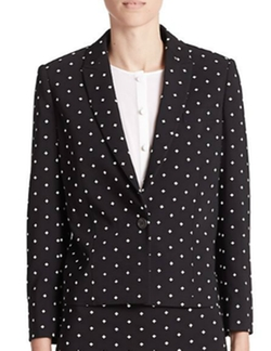 Crosses Cady Cropped Blazer by Givenchy in How To Get Away With Murder