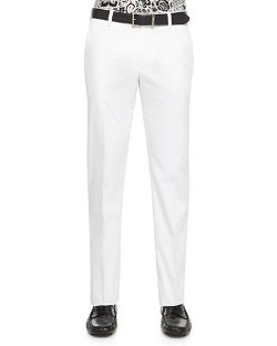 Cotton Stretch Trousers by Etro in Cinderella
