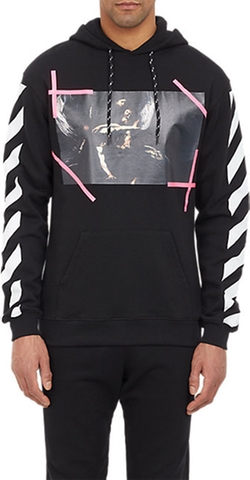 Caravaggio Hoodie by Off-White C/o Virgil Abloh in Ballers
