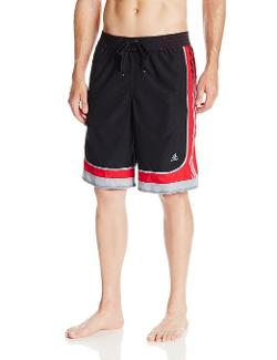 Men's Sport Stripe Swim Short by Adidas in Couple's Retreat