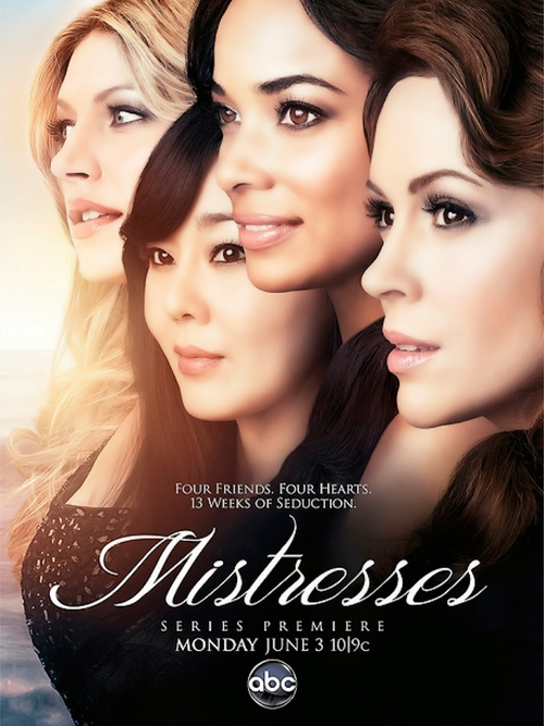 Mistresses Blurred Lines poster