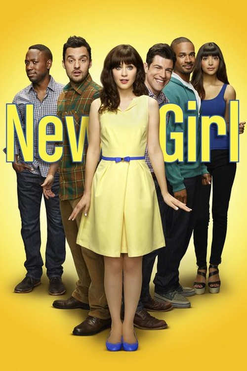 New Girl Goosebumps Walkaway poster