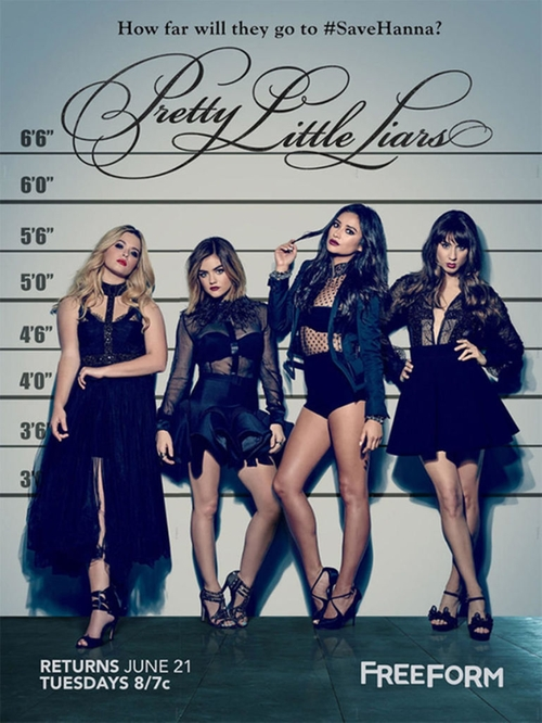 Pretty Little Liars Tick-Tock, Bitches poster