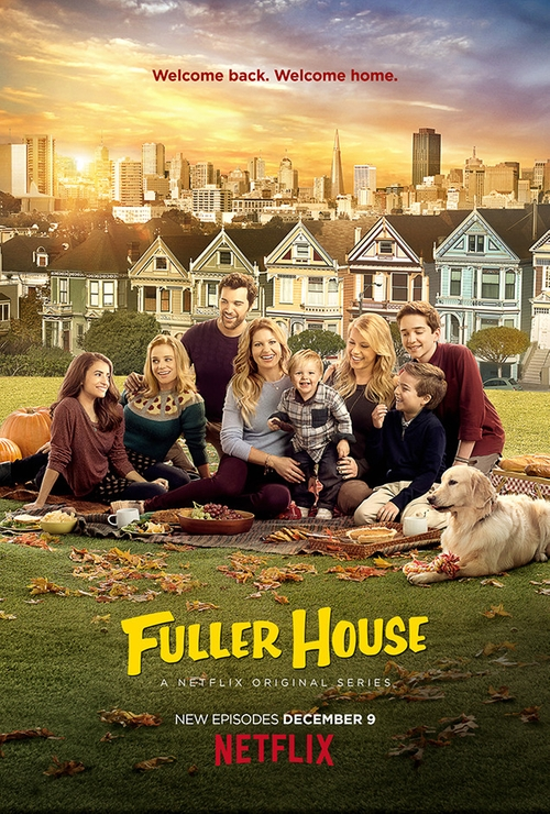 Fuller House New Kids in the House poster