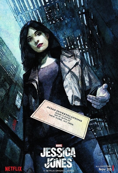 Jessica Jones AKA Ladies Night poster