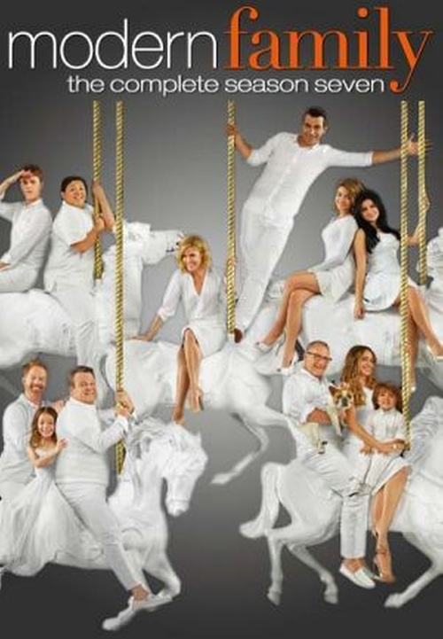 Modern Family White Christmas poster
