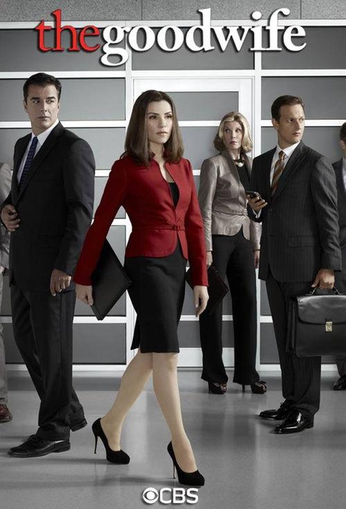 The Good Wife Hearing poster