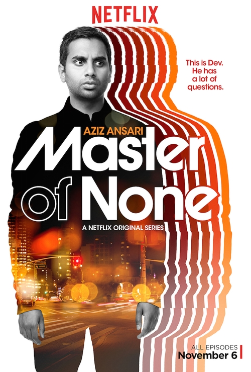 Master of None Indians on TV poster
